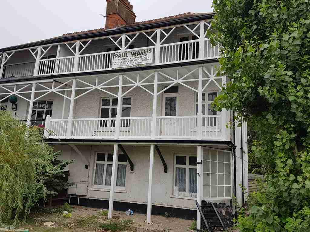 Balcony rebuild